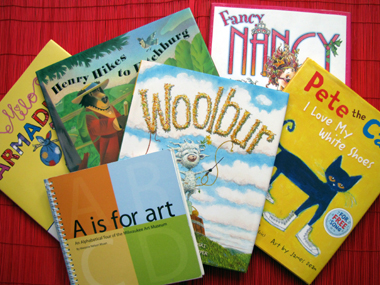 Cloud 9's TOP 9 – Favorite Art Books for Young Children