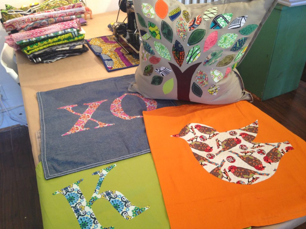 Appliqué Pillow Cases