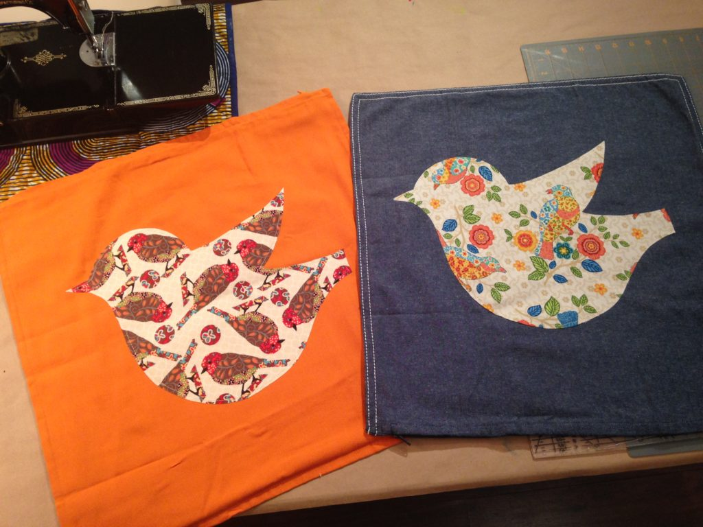 Sweet and Simple Appliqué Birds