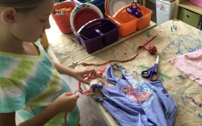 Our 3 Centering Principles for Summer Eco-Art Camp