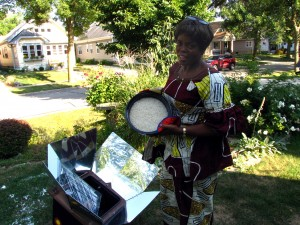 Solar Cooking Practice Web