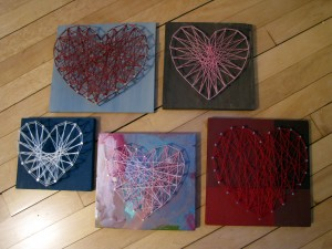 C9W Can't Stop Making String Art Hearts 2