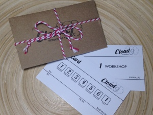 Cloud 9 Gift Cards