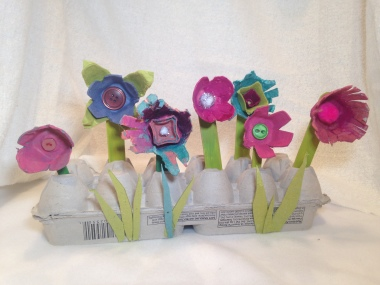 How to Create an Eco-friendly Egg Carton Flower Box with Kids