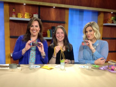 VIEW LIVE TV Segment on TMJ4 Featuring Kelcey's Craft Corner in Metroparent Magazine
