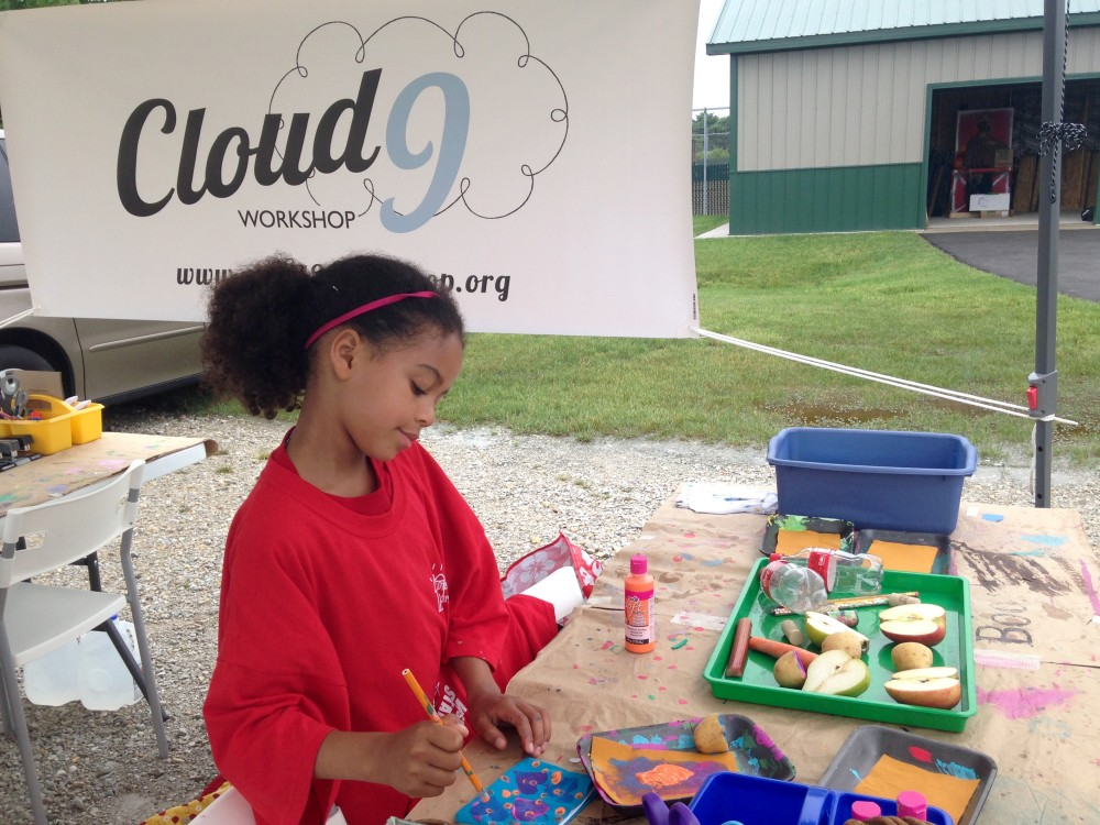 THIS Saturday Morning Visit & Create with Cloud 9 Workshop at the Tosa Farmers Market