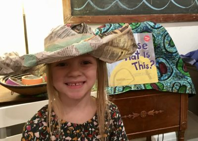Fancy Hats & Big Smiles at ArTogether for Tots