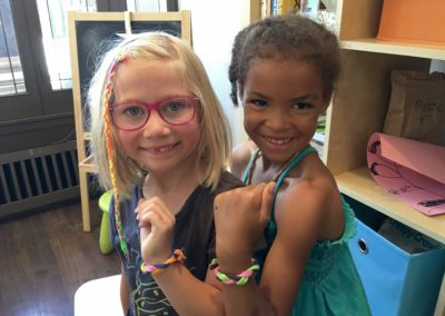 New Friends at Summer Eco-Art Camp