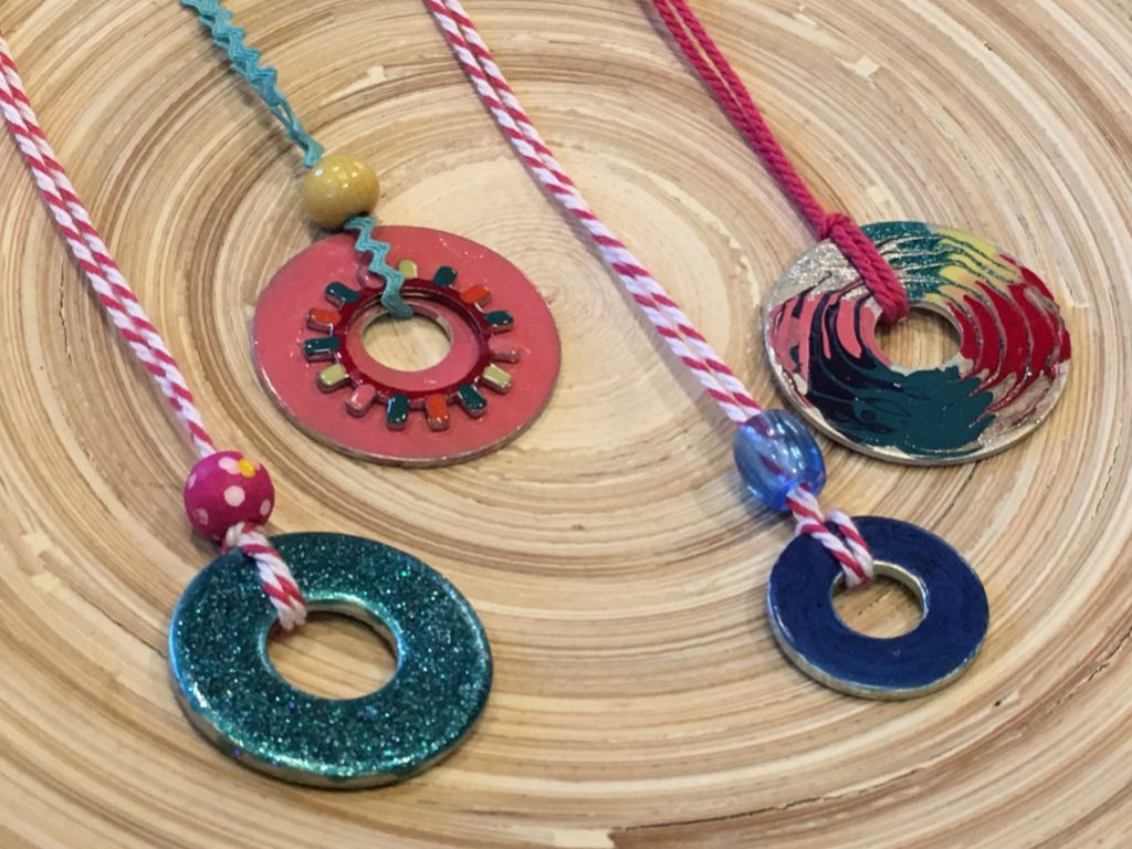 Tutorial-How to CREATE Tool Box Washer Necklaces