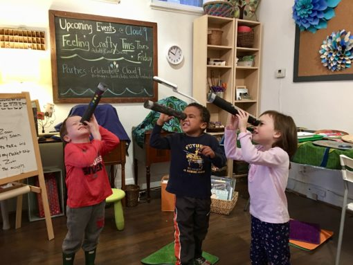 Space Exploration at ArTogether for Tots