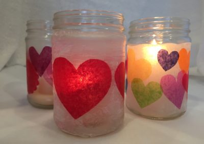 Tissue Paper Lanterns & Votives