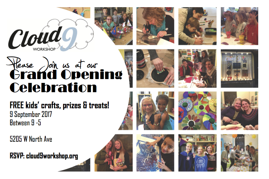 You're Invited!!! Grand Opening Celebration Saturday, Sept. 9!